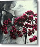 Pink Passion Original Painting Madart Metal Print
