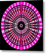 Pink Rings II Metal Print