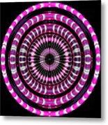Pink Rings Metal Print