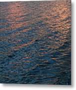 Pink Ripples On The Shore Metal Print