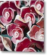 Pink Sea Shells On Cozumel Metal Print