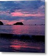 Pink Sunset Metal Print