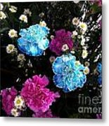 Pink To Her Blue For Him Metal Print