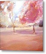 Pink Trees Metal Print by Tanya Byrd