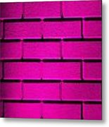 Pink Wall Metal Print by Semmick Photo