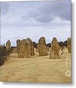 Pinnacles Australia Metal Print