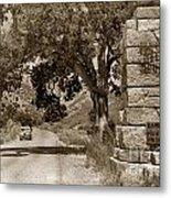 Pinnacles National Monument California Circa 1946 Metal Print