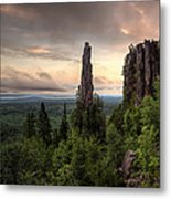 Pinnacles The Dorion Tower Metal Print