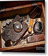 Pioneer Keepsake Box Metal Print