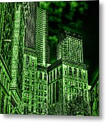 Pioneer Square In The Emerald City - Seattle Washington Metal Print