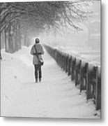 Pioneering The Alley - Featured 3 Metal Print