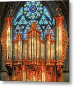 Pipe Organ Metal Print