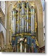 Pipe Organ In Breda Grote Kerk Metal Print