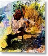 Pipe Smoking Ritual Chillum India Rajasthan 1 Metal Print