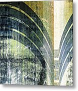Piped Abstract Metal Print