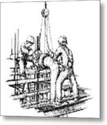 Pipefitters Metal Print by Steve Knapp