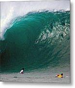 Pipeline Wave Hawaii Metal Print