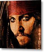 Pirate Life - Rum Sunset Metal Print