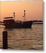 Pirates Of Lake Erie Metal Print