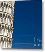 Pisa - The Leaning Tower Metal Print