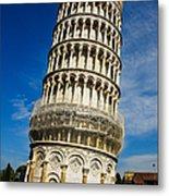 Pisa Metal Print