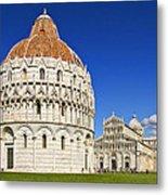 Pisa - Piazza Dei Miracoli Metal Print
