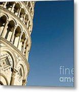 Pisa Tower Metal Print