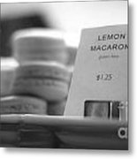 Pistacia Vera Macaron In The German Village Shop Area Of Columbu Metal Print