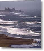 Pistol River Beach Metal Print