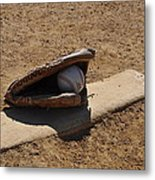 Pitchers Mound Metal Print by Bill Cannon