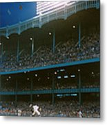 Old Yankee Stadium  Metal Print by Retro Images Archive