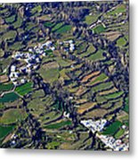 Pitres And Capilerilla From The Air Metal Print