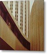 Pitt Towers Metal Print