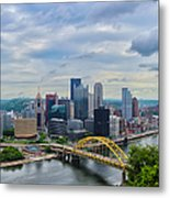 Pittsburgh And Above Metal Print