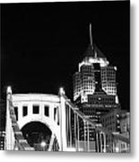 Pittsburgh Bridge Metal Print