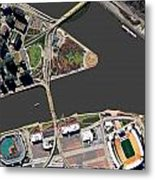 Pittsburgh Golden Triangle 2 Metal Print