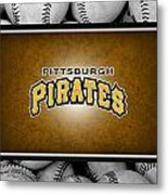 Pittsburgh Pirates Metal Print by Joe Hamilton