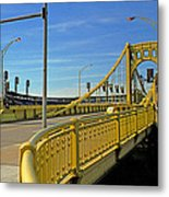 Pittsburgh - Roberto Clemente Bridge Metal Print