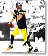 Pittsburgh Steelers Ben Roethlisberger Metal Print