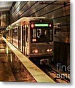 Pittsburgh Subway Metal Print
