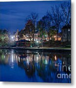 Pittsford On The Erie Canal Metal Print