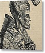 Pius Iv 1499-1565. Pope 1559-1565 Metal Print