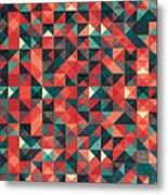 Pixel Art Poster Metal Print