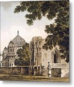 Pl. 18 A View Of The Mosque Metal Print