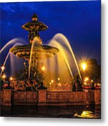 Place De La Concorde Metal Print