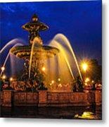 Place De La Concorde Metal Print by Midori Chan