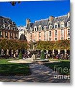 Place Des Vosges Paris Metal Print