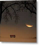 Place Of Silence Metal Print