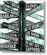 Places To Go  Metal Print by Cathie Tyler