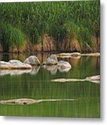 Llano River 2am-106459 Metal Print